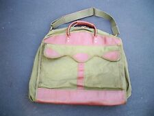 Vintage Gokey Travel Hunting Duffle Garment Clothing Luggage Carry On Bag Pack