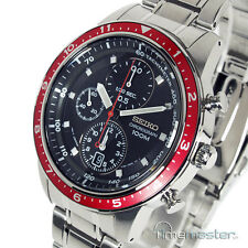 MEN'S SEIKO SPORTS 7T92 CHRONOGRAPH TACHYMETER S/STEEL SNDF37P1