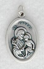 ST JOSEPH Catholic medal patron families fathers jobs happy death carpenters NEW