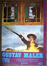 MAHLER-KEN RUSSELL/ROBERT POWELL/G.HALE-RARE ORIGINAL YUGOSLAV MOVIE POSTER 1975