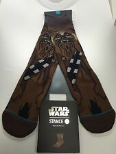 STANCE STAR WARS COLLECTION CHEWIE socks Brand New!! chewbacca force awakens