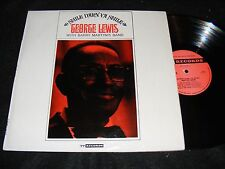 SMILE DARN YA SMILE George Lewis w Barry Martyn's Band TRAD JAZZ UK LP 77 Recrds