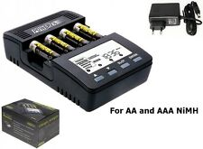 Maha powerex mh-c9000 Charger-Analyzer for AA AAA (ue plug) nk022 FR