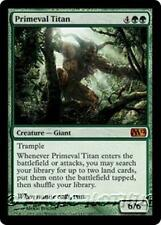 PRIMEVAL TITAN M12 Magic 2012 MTG Green Creature — Giant MYTHIC RARE