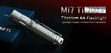 Klarus Mi7 Ti XP-L HI V3 700 Lumens AA EDC Tactical LED Flashlight