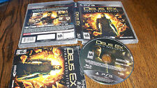 Deus Ex: Human Revolution (Sony PlayStation 3, 2011) USED VIDEO GAME FUN PS3