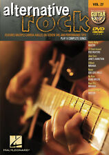Alternative Rock Guitar Play Along 8 Songs! DVD NEW!
