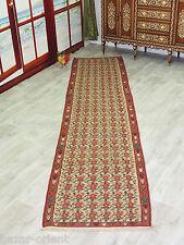380x90 cm antik orient Teppich kaukasische Nomaden Sanne kelim Läufer kilim 807