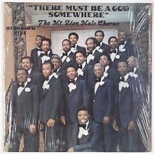 MT. ZION MALE CHORUS: There Must Be Somewhere SHRINK LP Private Black Gospel MP3