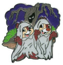 LE Chip and & n Dale Haunted Ghost Halloween Ghoulish Graveyard Disney Pin 85922