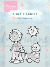 Marianne Design Clear Stamps Eline's Babies - Brother/Sister, 3 piece EC0110