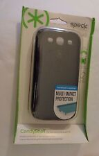 NIP Speck CandyShell phone case for Samsung Galaxy S3 Black/ Gray SPK-A1433