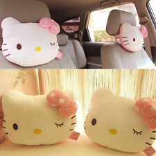 2x Cute Hello Kitty Seat Head/Neck Rest Cushion Pillow for Auto Car Vehicle Home