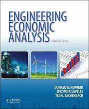 Engineering Economic Analysis by Ted G. Eschenbach, Donald G. Newnan and...