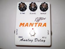 RIFFTONE MANTA  ANALOG DELAY BBD CHIP  SET 600 ms TRUE BYPASS  BRAND NEW!