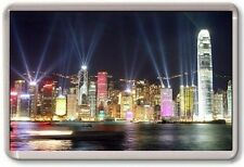 FRIDGE MAGNET - HONG KONG - Large Jumbo - China Lasers