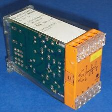 SCHLEICHER 250V, 6A ELECTRONIC INTERVAL TIME RELAY SSY 12