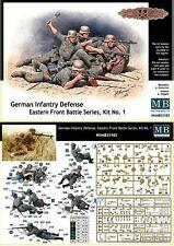 MASTERBOX GERMAN INFANTRY DEFENSE KIT N°1  Scala 1:35 cod.MB35102