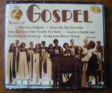 2 CDs World of Gospel - 1996 ZYX Music (Deutschland)