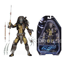 "8"" TEMPLE GUARD PREDATOR figure AVP VS ALIEN yautja NECA guardians SERIES 15"