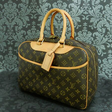 Rise-on LOUIS VUITTON MONOGRAM DEAUVILLE HANDBAG Purse #111