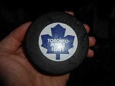 Rare Vintage 1980s Toronto Maple Leafs Viceroy – InGlasCo Game Puck w NHL Logo