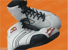 Go Kart Racing Boot Red Bull white