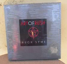 The Art of RUSH Signed by Geddy Alex Neil and Hugh Syme SEALED NEVER OPENED