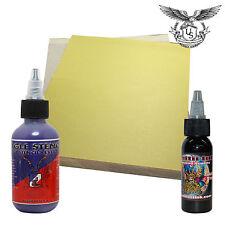 Spirit Master Transfer Paper 20pk + 2oz Eagle Stencil + 1oz Triple Black