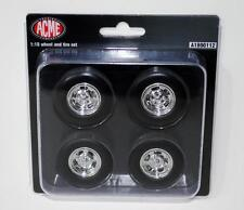ACME C-10 PICKUP MAG WHEEL AND TIRE SET 1:18 NEW!
