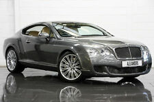 08 08 BENTLEY CONTINENTAL GT SPEED 6.0 W12 AUTO PETROL GREY COUPE