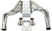 NEW 65-74 CHEVY LONG TUBE HEADERS,STAINLESS STEEL,BBC,V-8,IMPALA,BEL AIR,CAMARO