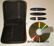 DVD u.CD Marker Set + CD Reiniger inkl. Tasche ,ovp.NEU