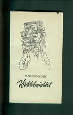 Hans Ponader Kuddelmuddel Pfälzer Mundart pfälzisch Gedichte Geschichten Pfalz