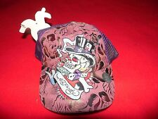 NWT Don Ed Hardy Skull Top Hat Dice Hat One Size