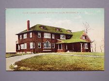 R&L Postcard: Club House Newark Bay Yacht Club Bayonne New Jersey USA