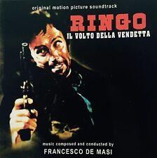 FRANCESCO DE MASI -RINGO IL VOLTO DELLA VENDETTA Spaghetti Western Soundtrack CD