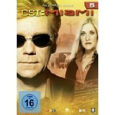 "CSI MIAMI ""SEASON 5"" 6 DVD SET TV SERIE NEU"