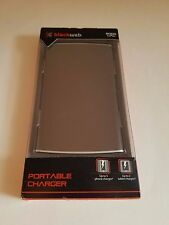 Blackweb 8000mAh Slim Portable Charger Power Bank 2 USB For Smartphones, Tablets