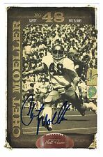 Chet Moeller 2010 AUTOGRAPH COLLEGE FB HOF PHOTO SIGNED