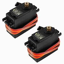 KOOKYE 2PCS MG995 Metal Gear 13kg/55g High Speed & Torque Digital Servo Motor