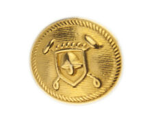 Org Ralph Lauren Polo University gold color metal Replacement sleeve button .60""