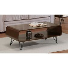 Walnut Coffee Table Home Furniture Cocktail Tables Retro Design Dining Room New