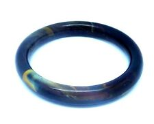 Tiger's Eye Stone Bangle/inside diam 64mm/ Inventory #410