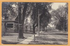Childs Real Photo Postcard RPPC - Ottawa Street South Earlville Illinois