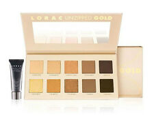 NIB LORAC GOLD Unzipped Shimmer & Matte Eyeshadow Palette w/ Mini Eye Primer!