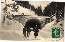 CPA Les Vosges en Hiver-Le Tunnel de Bussang (184927)