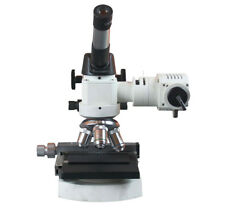 1200x Metal Powder Testing Lab Metallurgical Metallography Microscope w XY Stage