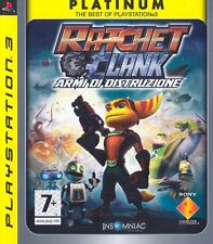 Platinum Ratchet & Clank: Armi di Distruzione PS3 - totalmente in italiano