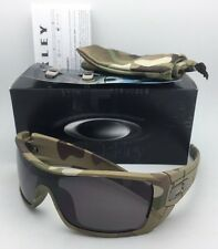 New OAKLEY Sunglasses BATWOLF OO9101-34 Multi-Cam Camo Frame w/ Warm Grey Lens